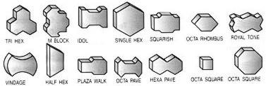 Manek maquina para fabricar bloques de concreto y bloque for Moldes para adoquines