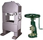 flattening hammer, stamping press, hydraulic coining press and hand fly press