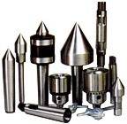 revolving centre, pipe centre, dead centre, expanding reamer, drill chuck, drill sleeve, arbour, etc.